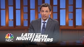 Seth's Story: Will Forte's SNL Prank - Late Night with Seth Meyers