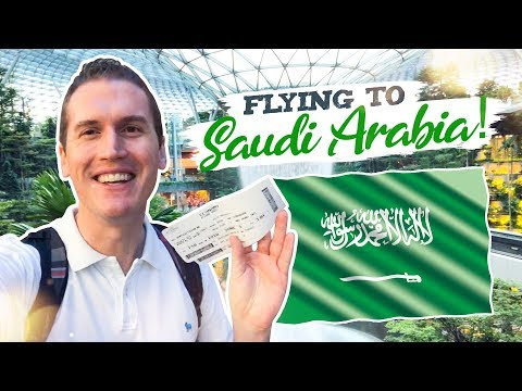 Flying to Riyadh, Saudi Arabia on the New Tourist Visa (Octo