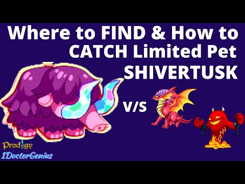 How To Catch Rare Pet Shivertusk Prodigy Math Game New Pet Update More 2020 Shivertusk Battles Youtube