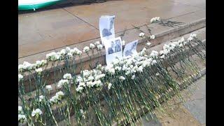 Plantón y homenajes en honor a Dilan Cruz en Medellín transcurrieron con normalidad