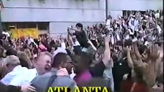 Atlanta is awarded 1996 Olympic Games