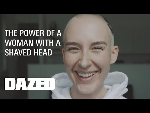 OMG She's Bald: the power of a woman with a shaved head