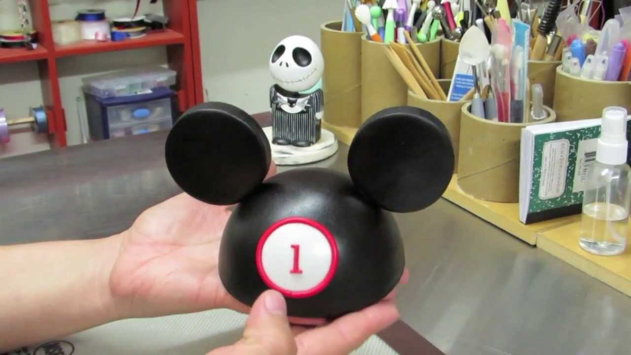Mickey Mouse Hat Cake Topper How To Make A Mickey Mouse