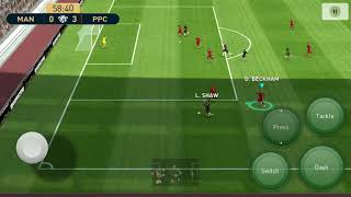Pes Mobile 2019 / Pro Evolution Soccer / Android Gameplay #2 Against Manchester United