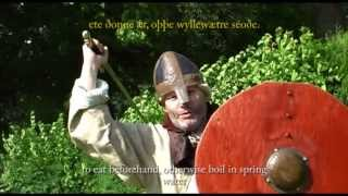 Anglo Saxon Charm to use Before a Fight