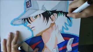 [POT] How to draw Echizen Ryoma / Comment dessiner Echizen Ryoma