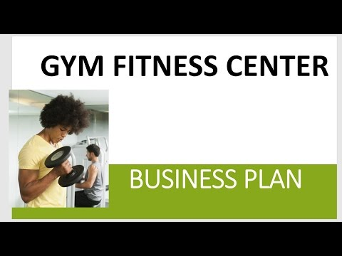 Fitness centre business plan