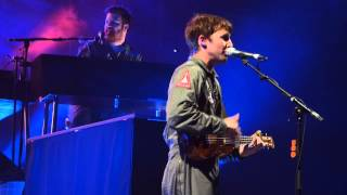 James Blunt - Postcards live Hamburg O2 World 04.03.2014