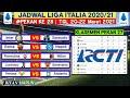 Jadwal Liga Italia Malam ini Pekan 28 | Juventus vs Benevento | Klasemen Serie A 2021 | Live Rcti