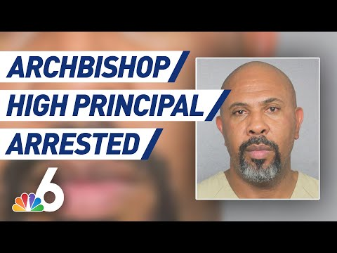 Archbishop McCarthy High School Principal Arrested   NBC 6