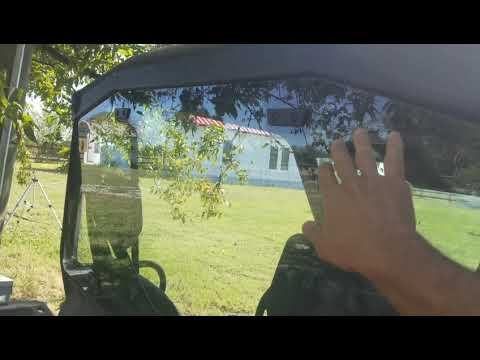2018 Can Am Defender Rear Windshield Install