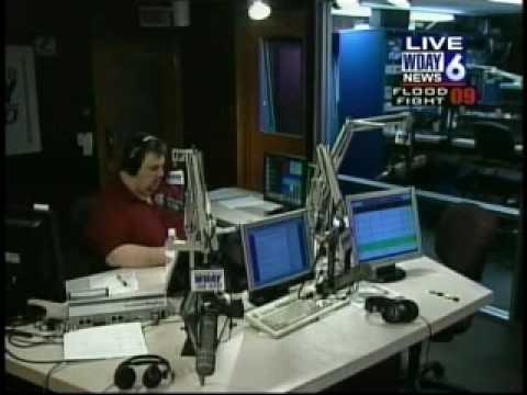 WDAZ - March 27, 2009, 2:10AM - WDAY-AM Simulcast, with WDAY-TV break-in