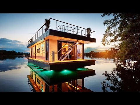 Extravagant Personalized Built-to-order Floating Luxury Penthouse from Germany