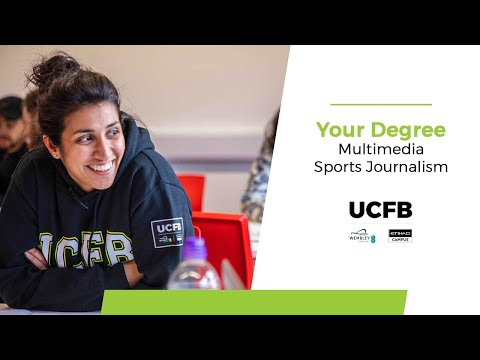 BA (Hons) Multimedia Sports Journalism at UCFB