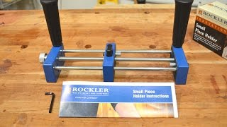 Rockler Small Piece Holder Review