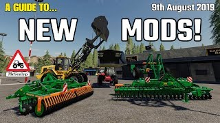 A GUIDE TO... NEW MODS! 9th August 2019. Farming Simulator 19, PS4, Assistance!