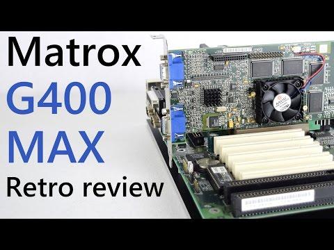 Matrox G400 MAX Retro Review