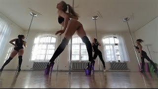 Olga Spezia Exotic Pole workshops promo-video