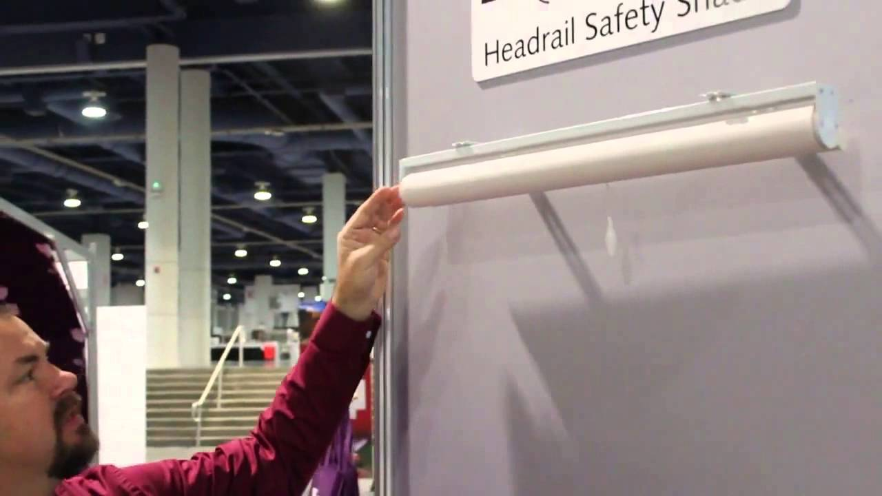 Child Safe Roller Shades From International Window Coverings Expo 2015
