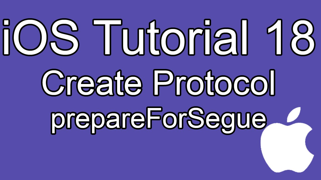 Ios tutorial: protocols and delegates explained part 2 youtube.
