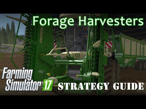 Farming Simulator 17 Tutorial - What is a Forage Harvester?