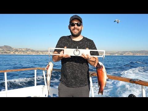 Tekneyle Okyanusta Balık Avına Çıktık