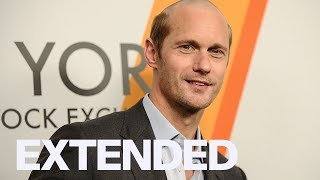 Alexander Skarsgard Talks 'Hummingbird Project' Injury | EXTENDED