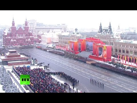 Moscow celebrates 75th anniversary of legendary WWII parade