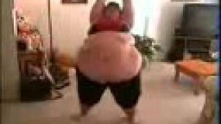 fun clip of a bigg women . what should you do when you have fat on your body'