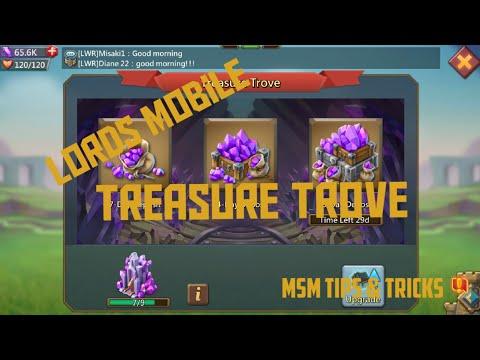 Treasure Trove Lords Mobile.