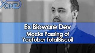 Gambar cover Ex Bioware Dev Mocks Passing of YouTuber TotalBiscuit