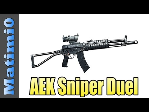AEK Sniper Duel - Buttering Levelcap's Taco - Battlefield 4