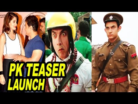 """PK Teaser"" Trailer Launch Event   Aamir Khan   Anushka Sharma   Movie Promotion Event"