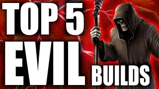 Skyrim - Top 5 Evil Builds