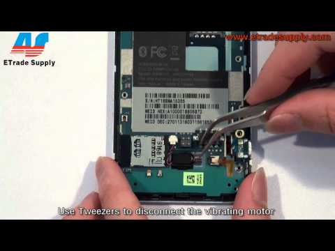 How to tear down / take apart HTC Droid incredible 2.mp4