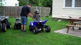 new 4 wheeler for the kids in the family