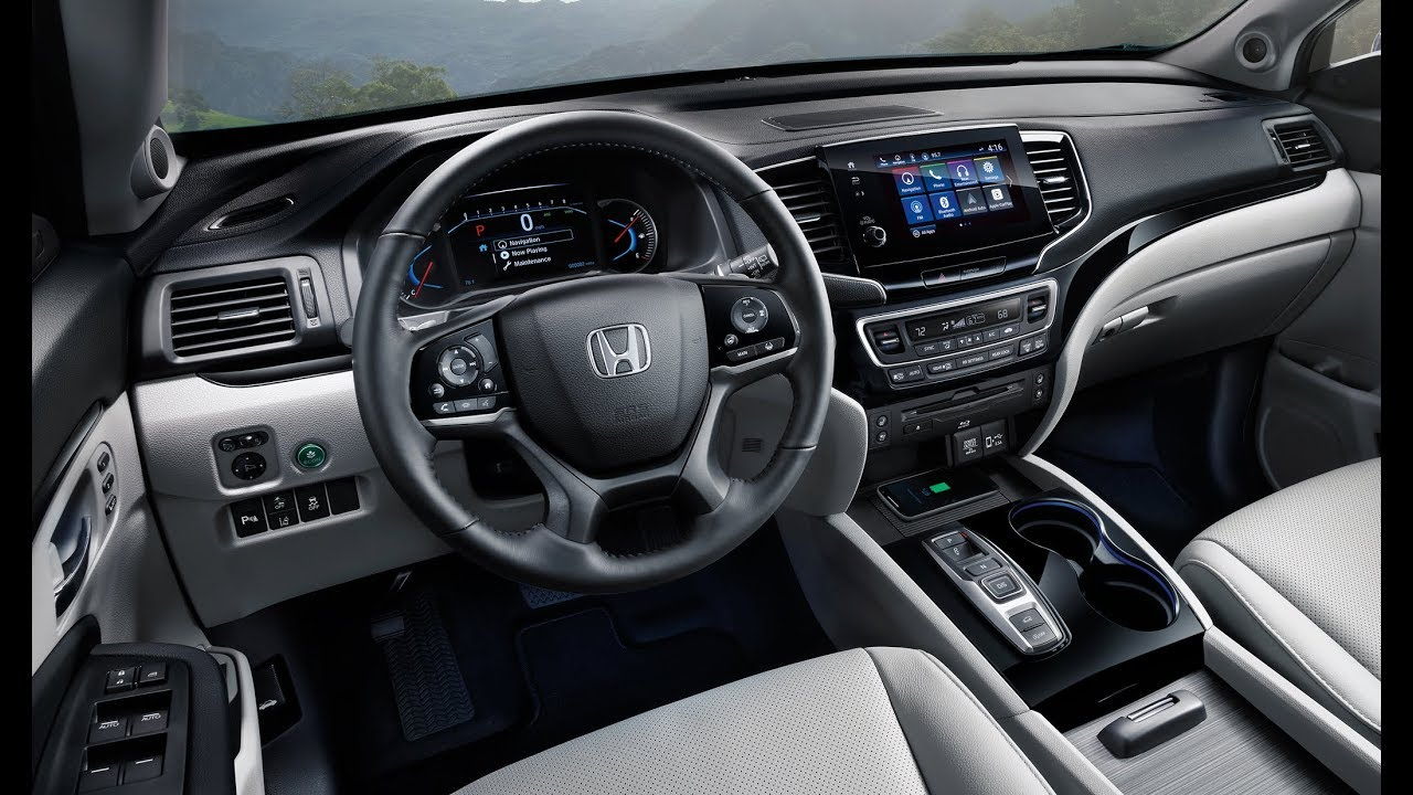 2019 Honda Pilot Interior and Exterior - YouTube