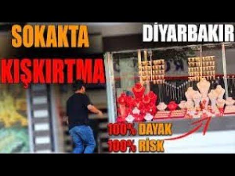 DİYARBAKIR'DA SOKAKTA KIŞKIRTMA YAPMAK! #yapamazsınfurkan