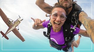 Would You JUMP OUT of a Perfectly Good Airplane? | Skydiving in Hawaii
