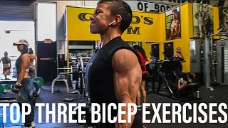 TOP 3 EXERCISES TO GROW YOUR BICEPS || Tristyn Lee