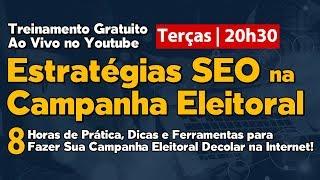 SEO  na Campanha Eleitoral Treinamento Gratuito   Anderson Alves