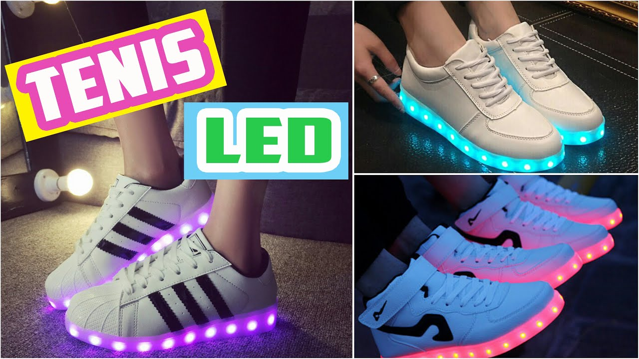 TENIS LED / Light Up Led Shoes ♥