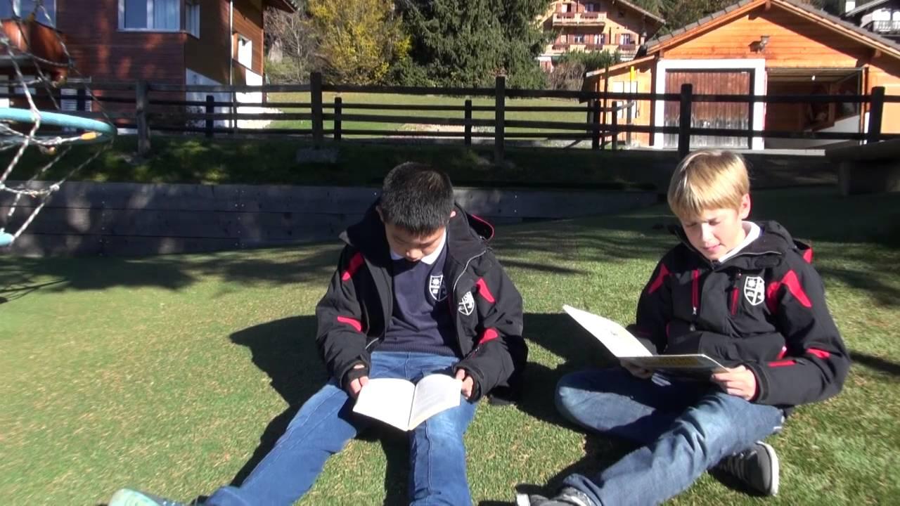 A day in the life of Arthur at La Garenne International School, Switzerland