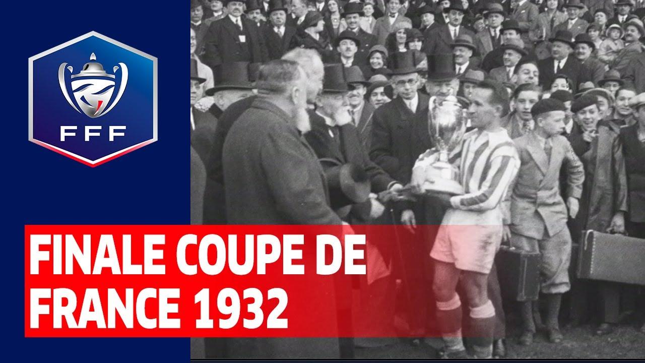 Finale Coupe de France 1932 : AS Cannes - RC de Roubaix (1-0)