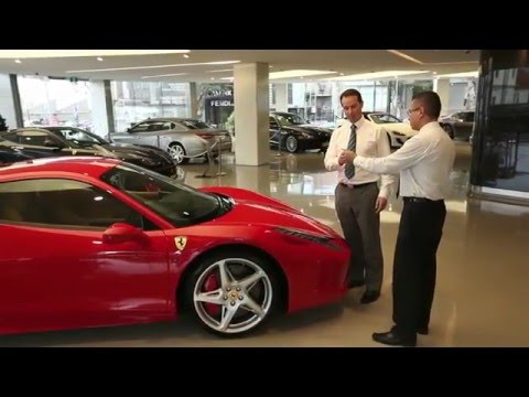 Metaio AR (now Apple) used for Ferrari Interactive Showroom