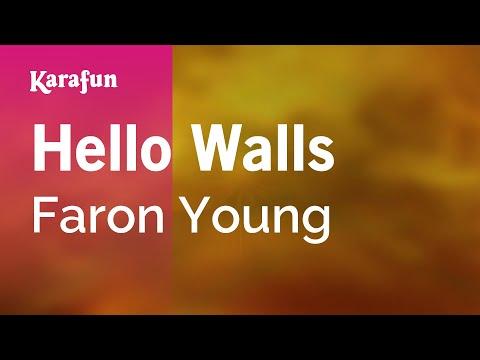 Karaoke Hello Walls - Faron Young *