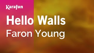 Karaoke Hello Walls - Faron Young *