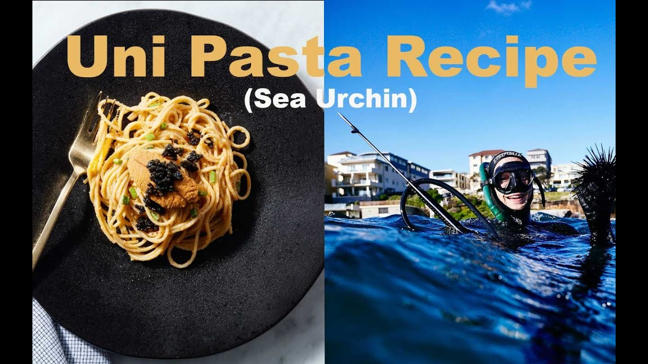 Uni Pasta Recipe (Sea Urchin)