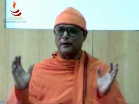 Swami Atmapriyanand on Indian Perspective of Education. V C, Vivekandana University, Bellur Math.