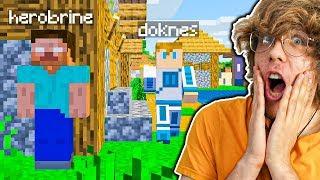 HEROBRINE PRANK na DOKNESIE! | Minecraft EXTREME !